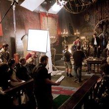 Da Vinci's Demons: un'immagine dal set della serie