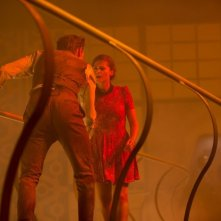 Doctor Who: Matt Smith e Jenna-Louise Coleman nell'episodio Journey to the Centre of the TARDIS