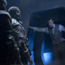 Doctor Who: Matt Smith in una scena dell'episodio Journey to the Centre of the TARDIS