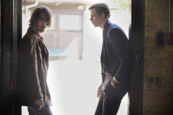 Hemlock Grove: Landon Liboiron e Bill Skarsgard in una immagine della serie