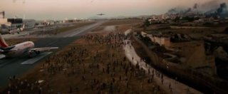 World War Z: una scena del film