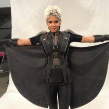 X-Men: Giorni di un futuro passato: prova costumi sul set per Halle Berry