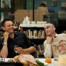 Community: Joel McHale e Jim Rash nell'episodio Cooperative Escapism in Familial Relations