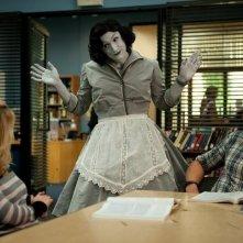 Community: Joel McHale, Jim Rash e Gillian Jacobs nell'episodio Herstory of Dance