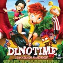 Dino e la macchina del tempo: la locandina del film