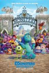 Monsters University: il poster italiano del film