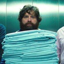 Una notte da leoni 3: Bradley Cooper, Zach Galifianakis e Ed Helms in una scena del film