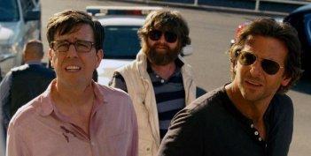 Una notte da leoni 3: Ed Helms, Zach Galifianakis e Bradley Cooper in una scena del film