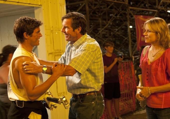 At Any Price Zac Efron Con Dennis Quaid E Kim Dickens In Una Scena 273137