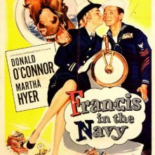 Francis in the Navy: la locandina del film