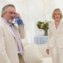 Robert De Niro con Diane Keaton in Big Wedding