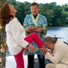 Susan Sarandon, Robin Williams e Robert De Niro in Big Wedding