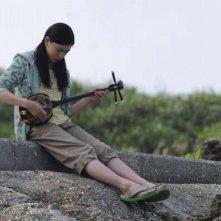 Tabidachi no shima uta - 15 ho haru; una scena del film