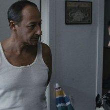 Esterno sera: Salvatore Cantalupo in una scena del film insieme a Valentina Acca