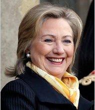 Una foto di Hillary Rodham Clinton