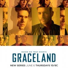 Graceland: un poster della serie