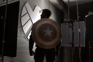 Captain America - Il soldato d'Inverno: Chris Evans nella prima immagine dal set