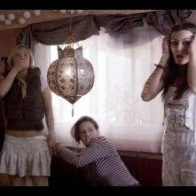 Catrin Striebeck, Sylta Fee Wegmann e Sina Tkotsch in Ohne Gnade, commedia tedesca del 2013