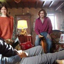 Fabrice Eboué con Audrey Dana nella commedia francese Denis. Con loro anche Jean-Paul Rouve