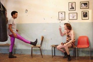 Fabrice Eboué e Jean-Paul Rouve nella commedia Denis, del 2013