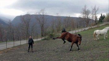 Fedele alla linea - Giovanni Lindo Ferretti: il protagonista del documentario in una scena