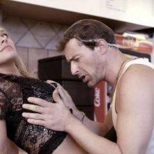 Sina Tkotsch con Gedeon Burkhard in Ohne Gnade, commedia tedesca del 2013