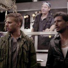 Tom Wlaschiha e Jan Fedder in Ohne Gnade, commedia tedesca del 2013