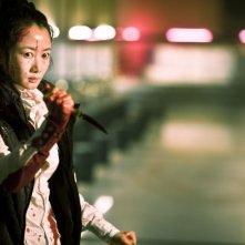 A Touch of Sin: Zhao Tao in una scena del film