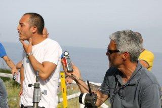 Amaro Amore: il regista del film Francesco Henderson Pepe sul set