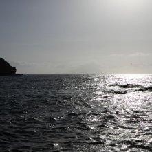 Amaro Amore: l'isola di Salina in un'immagine tratta dal film