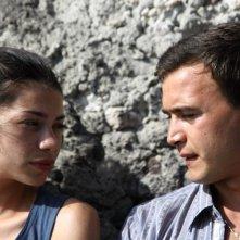 Amaro Amore: Lavinia Longhi con Francesco Casisa in una scena