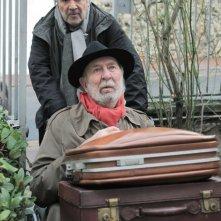 Jean-Pierre Marielle con Pierre Arditi in La fleur de l'age, del 2013