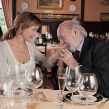 Jean-Pierre Marielle e Julie Ferrier in La fleur de l'age