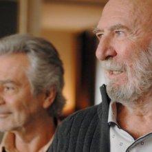 Jean-Pierre Marielle e Pierre Arditi in La fleur de l'age