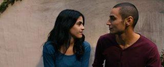 Omar: il protagonista Adam Bakri in una scena del film con Leem Lubany