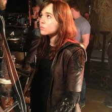 X-Men: Giorni di un futuro passato - Ellen Page sul set