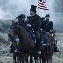 Daniel Day-Lewis nei panni di Lincoln
