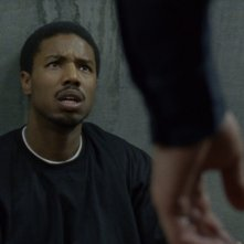 Fruitvale Station: Michael B. Jordan in una scena del film