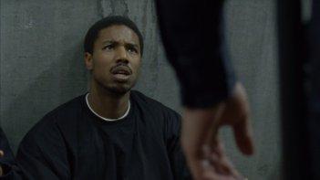 Fruitvale Station: Michael B. Jordan in una scena del film