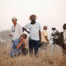 Grigris: il regista Mahamat-Saleh Haroun sul set