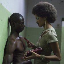Grigris: Souleymane Démé con Anaïs Monory in una scena del film diretto da Mahamat-Saleh Haroun