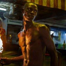 Grigris: Souleymane Démé in una scena del film