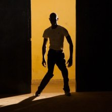 Grigris: Souleymane Démé in una suggestiva scena del film