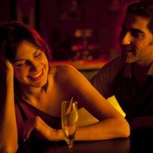 Helena Noguerra accanto ad Ary Abittan in Hotel Normandy, film francese del 2013