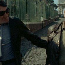 Le dernier des injustes: il regista Claude Lanzmann con Benjamin Murmelstein nel 1975 a Roma