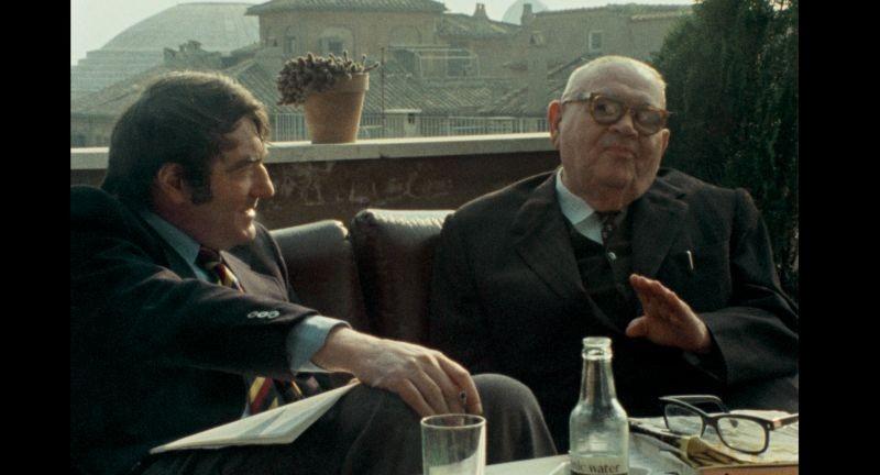 Le Dernier Des Injustes Il Regista Claude Lanzmann Insieme A Benjamin Murmelstein Nel 1975 A Roma 273919