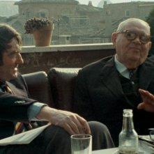 Le dernier des injustes: Claude Lanzmann insieme a Benjamin Murmelstein nel 1975 a Roma