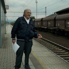 Le dernier des injustes: il regista Claude Lanzmann in una scena del documentario su Benjamin Murmelstein