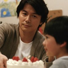 Like father, Like son: Masaharu Fukuyama in una scena