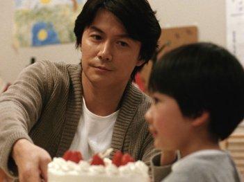 Like father, Like son: Masaharu Fukuyama in una scena